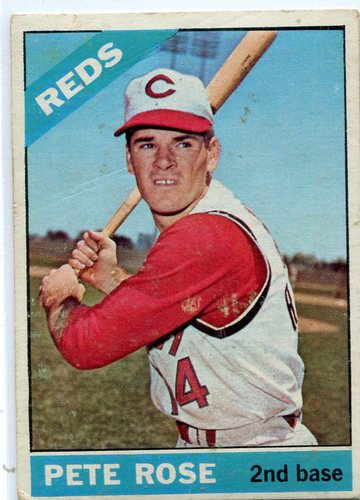 Photo of 1966 Topps #30 Pete Rose