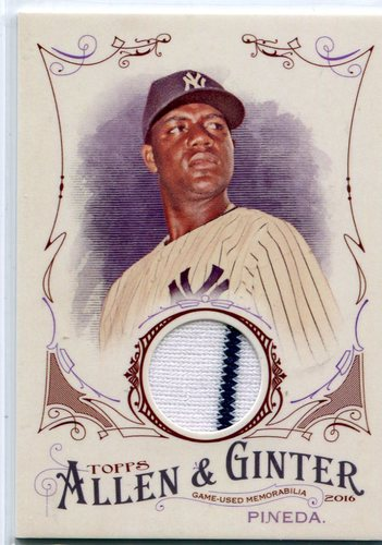 Photo of 2016 Topps Allen and Ginter Relics #FSRBMP Michael Pineda -- Yankees post-season