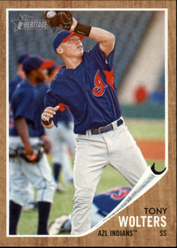Photo of 2011 Topps Heritage Minors #188 Tony Wolters -- Rockies post-season