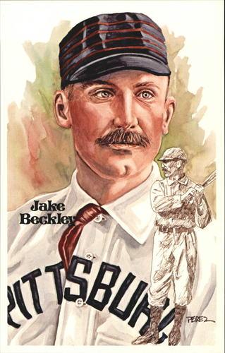 Photo of 1980-02 Perez-Steele Hall of Fame Postcards #120 Jake Beckley -- Set #08689