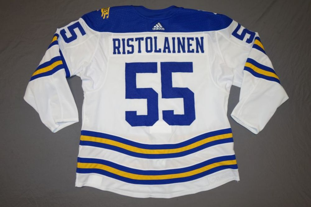Rasmus Ristolainen Buffalo Sabres 2018 Winter Classic Game-Worn Jersey