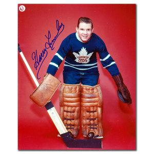 Harry Lumley Toronto Maple Leafs Autographed 8x10