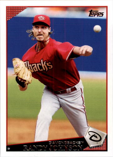 Photo of 2009 Topps #185 Randy Johnson