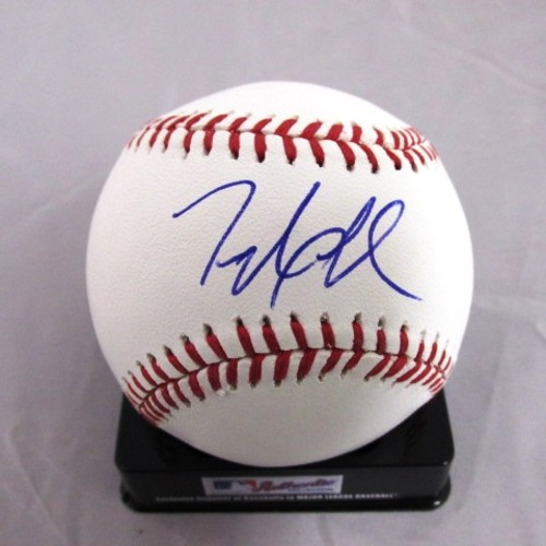 Taylor Jordan Autographed Official Major League Baseball