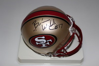 NFL - BRANDON WILLIAMS AUTOGRAPHED MINI HELMET