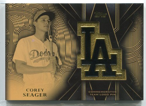 Photo of 2016 Topps Team Logo Pins #TLPCSE Corey Seager