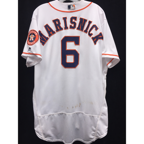 Photo of 2016 Game-Used Jake Marisnick Home Jersey