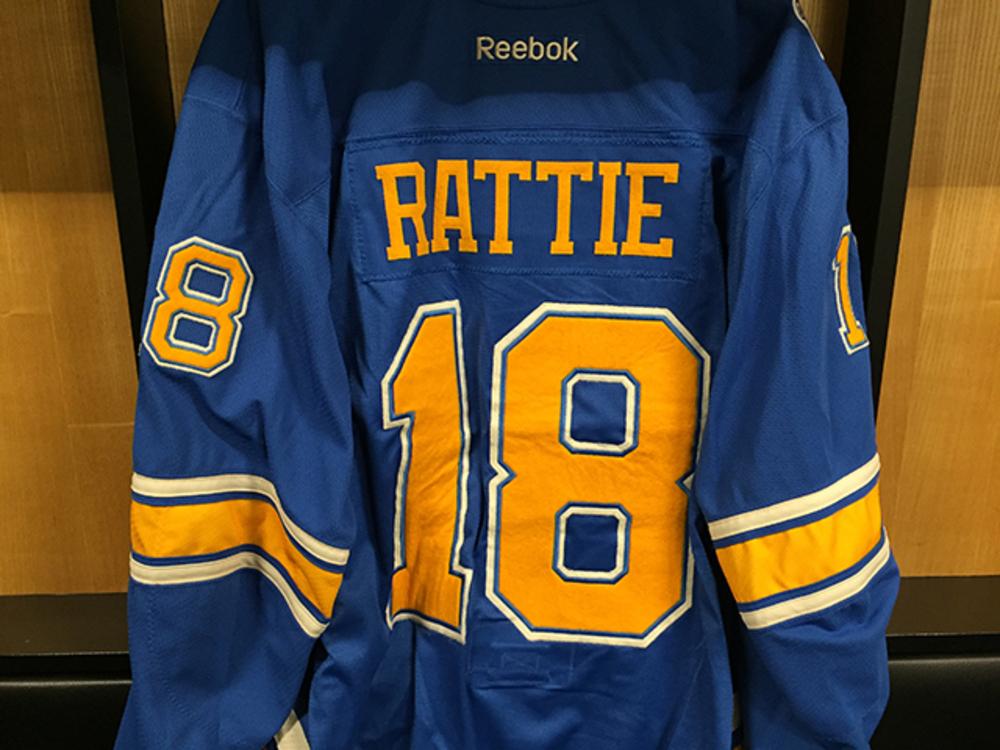 Ty Rattie Winter Classic Jersey