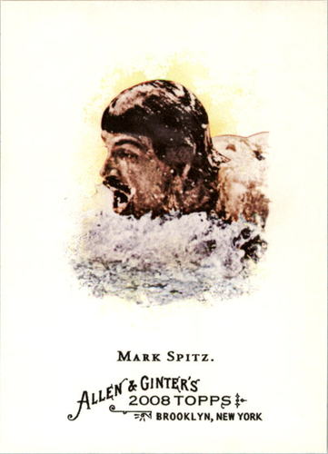 Photo of 2008 Topps Allen and Ginter #262 Mark Spitz