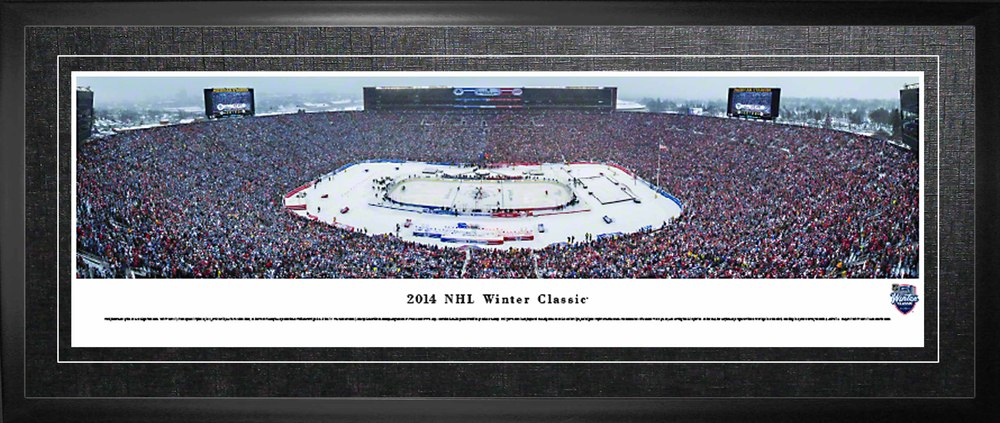 Toronto Maple Leafs Framed Panorama 2014 Winter Classic