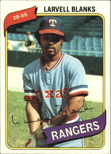 Photo of 1980 Topps #656 Larvell Blanks