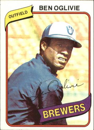Photo of 1980 Topps #53 Ben Oglivie