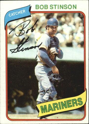 Photo of 1980 Topps #583 Bob Stinson