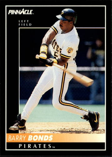 Photo of 1992 Pinnacle #500 Barry Bonds