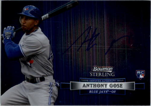 Photo of 2012 Bowman Sterling Rookie Autographs #AG Anthony Gose