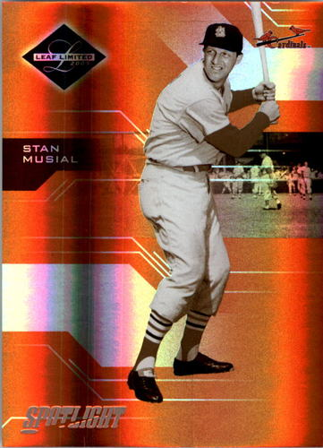 Photo of 2005 Leaf Limited Bronze Spotlight #164 Stan Musial LGD