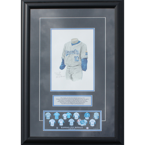 Photo of 2007 Jersey History Frame (Non authenticated)