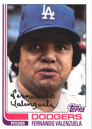 Photo of 2017 Topps Update All Rookie Cup #ARC26 Fernando Valenzuela