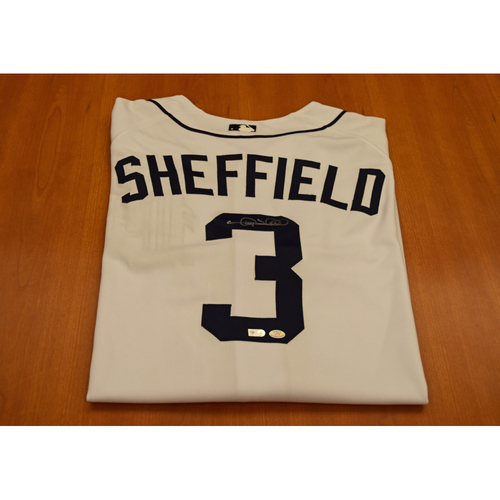 Photo of Gary Sheffield Autographed Detroit Tigers Jersey (MLB Authentic)