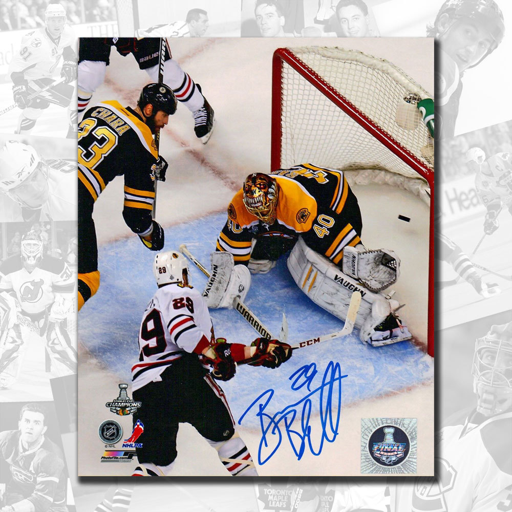 Bryan Bickell Chicago Blackhawks 2013 Stanley Cup Game 6 Tying Goal Autographed 8x10