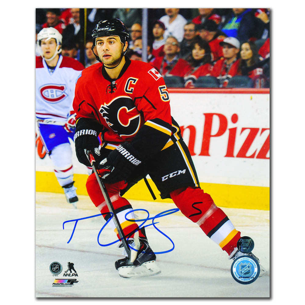 Mark Giordano Calgary Flames CAPTAINS Autographed 8x10