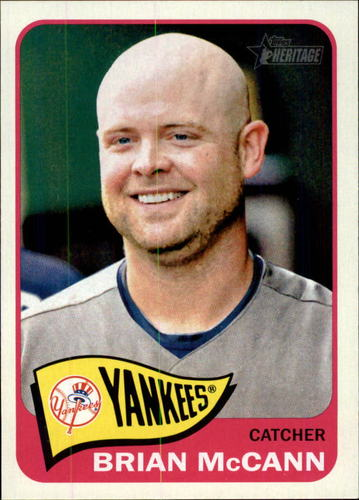 Photo of 2014 Topps Heritage #395 Brian McCann