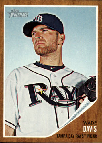 Photo of 2011 Topps Heritage #407 Wade Davis