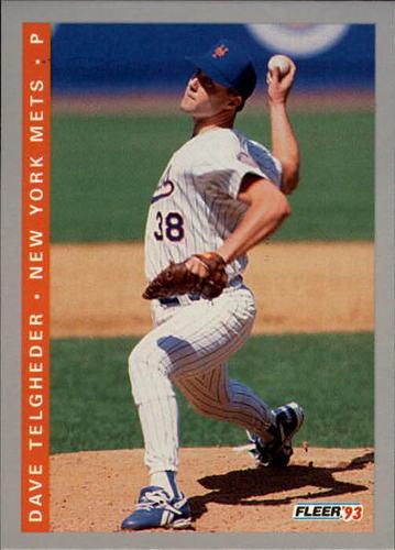 Photo of 1993 Fleer Final Edition #107 Dave Telgheder RC