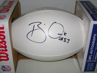 RAMS - BRIAN QUICK SIGNED PANEL BALL