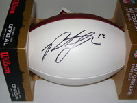 NFL - BRONCOS PAXTON LYNCH SIGNED PANEL BALL