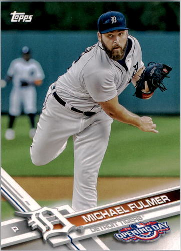 Photo of 2017 Topps Opening Day #93 Michael Fulmer