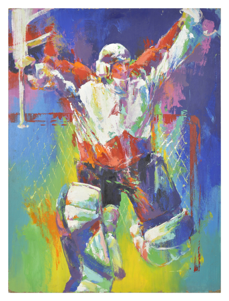 Patrick Roy Colorado Avalanche Original Artwork