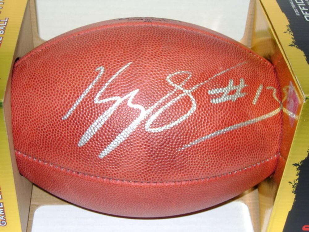 PANTHERS - KELVIN BENJAMIN SIGNED AUTHENTIC FOOTBALL