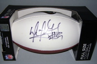JAGUARS - DAVID GARRARD SIGNED PANEL BALL
