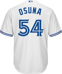 Toronto Blue Jays Youth Cool Base Replica Roberto Osuna Alternate Jersey by Majestic