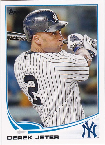 Photo of 2013 Topps #2A Derek Jeter