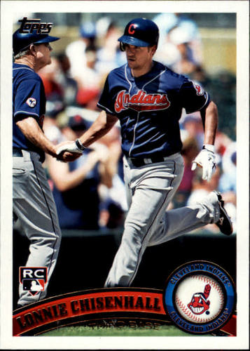 Photo of 2011 Topps Update #US112 Lonnie Chisenhall Rookie Card -- Indians post-season