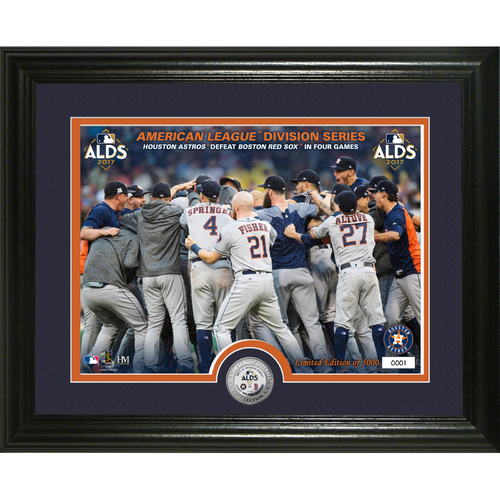 Houston Astros ALDS Victory Single Coin Photo Mint