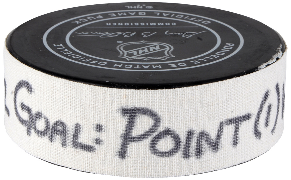 Brayden Point Tampa Bay Lightning Atlantic Division 2018 NHL All-Star Game Goal Puck vs. Metropolitan Division - First Career All-Star Game Goal