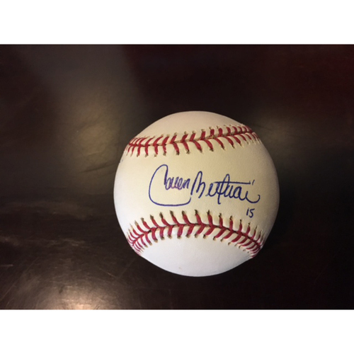 Photo of Giants Community Fund: Carlos Beltran Autographed Baseball