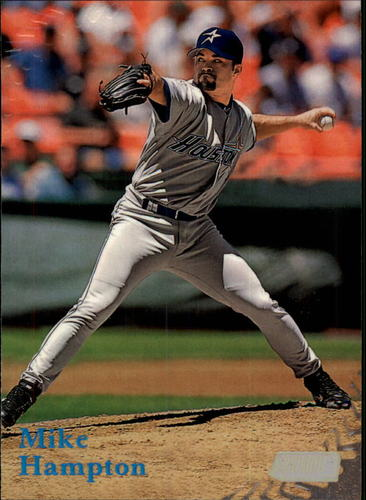 Photo of 1998 Stadium Club #154 Mike Hampton