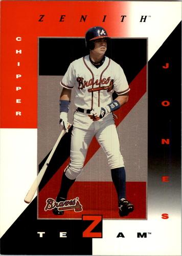 Photo of 1998 Zenith Z-Team 5 x 7 #8 Chipper Jones