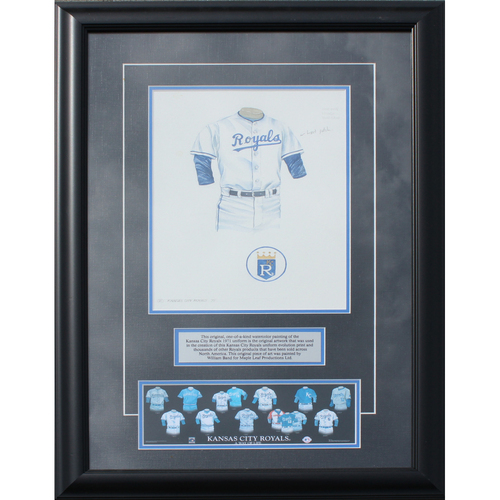 Photo of 1971 Jersey History Frame (Non authenticated)