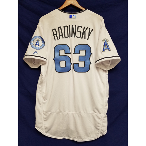 Photo of Scott Radinsky Team-Issued Blue Fathers Day Jersey