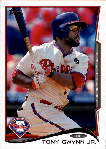 Photo of 2014 Topps Update #US181A Tony Gwynn Jr.