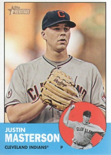 Photo of 2012 Topps Heritage #14A Justin Masterson