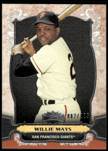 Photo of 2014 Topps Triple Threads Amber #27 Willie Mays