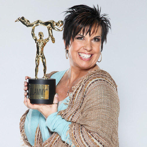 Vickie Guerrero SIGNED WWE Replica Slammy Award