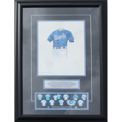 Photo of 1998 Jersey History Frame (Non authenticated)