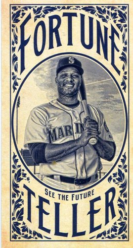 Photo of 2017 Topps Gypsy Queen Fortune Teller Mini #FTRC Robinson Cano